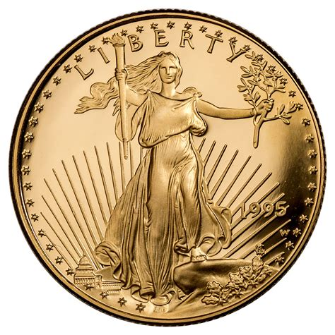 1995 One Half Ounce 25 American Eagle Gold Coin