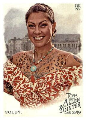 2019 Allen and Ginter 175 Danielle Colby NM MT ID 17950