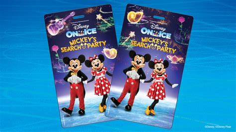 4 Tickets Disney On Ice Mickeys Search Party 2 1 20 Fresno CA