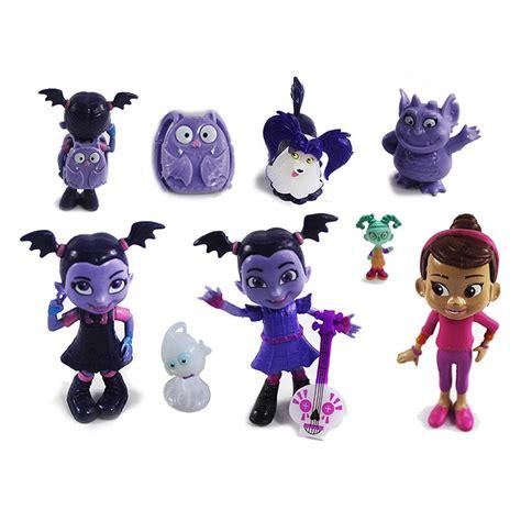 9Pcs Vampirina Series Batwoman Girls Figure Model Kids Birthday Toy Gi
