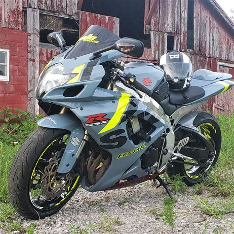 ABS Plastic Motorcycle Bodywork Kit Cowling For Suzuki GSXR600 750 06