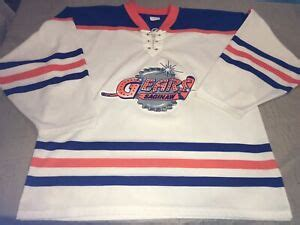 Adult Large Port Huron Border Cats UHL Hockey Jersey Mens Vhtf Rare Cl