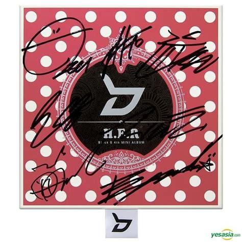 Block B autographed CD