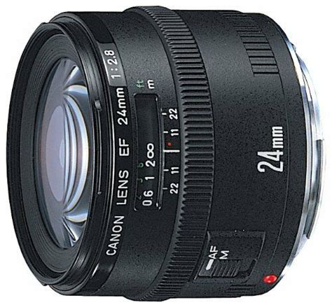 Canon Single Focus Wide Angle Lens Ef24Mm F2 8 Full Size Corresponding