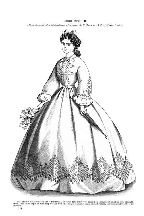 Godeys Ladys Book February 1864