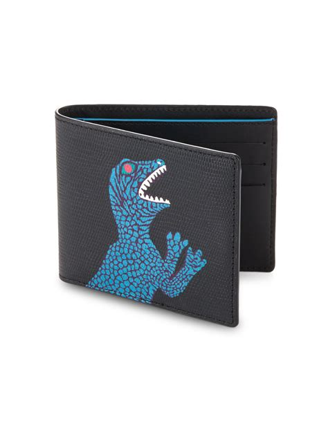 Paul Smith 3 Fold Wallet Leather Gry