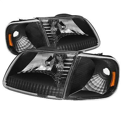 Spyder Auto 5070326 XTune Crystal Headlights Fits 97 03 Expedition F 1